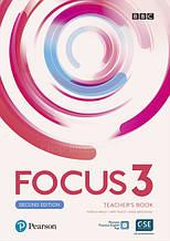 Focus 3 Second Edition Teacher's Book / Книга для учителя