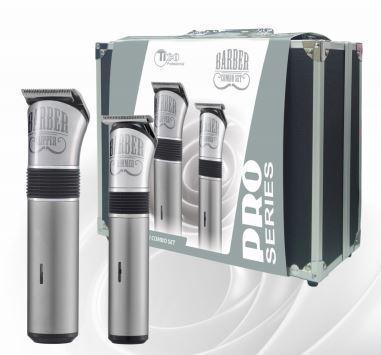 Профессиональный набор машинок для стрижки Tico Professional Combo Set Silver 100408