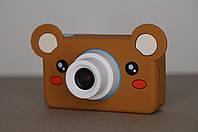 Детский фотоаппарат + брелок и чехол с мордочкой животного в подарок 🎁🔥🔥🔥