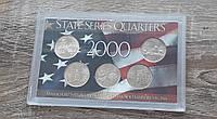 Набор монет США 2000 рік