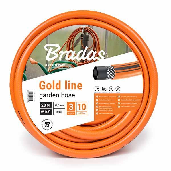 """Шланг для полива GOLD LINE 1"""" 50м, WGL150"""