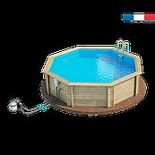 Бассейн сборный деревянный круглый Procopi WEVA 530 (4,6 х 1,33 м)