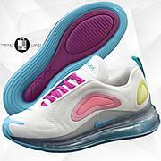 Женские кроссовки в стиле Nike Air Max 720 Rainbow