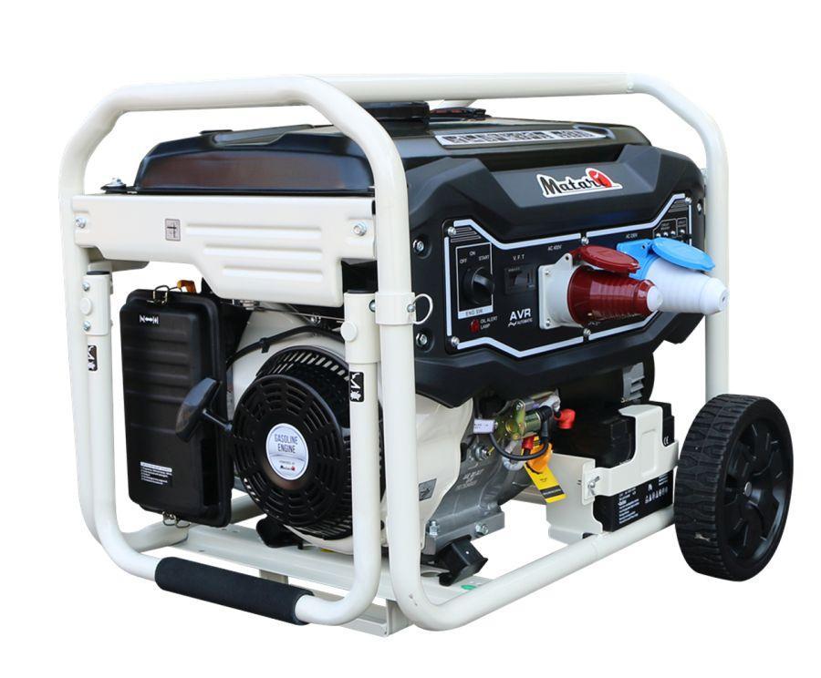 Бензиновый генератор Matari MX11003E (8.5 кВт, 220/380 В, электростарт)