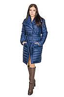 Женская зимняя куртка женская Севилья синий (44-48)