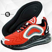Мужские кроссовки в стиле Nike Air Max 720 Orange/Black/White