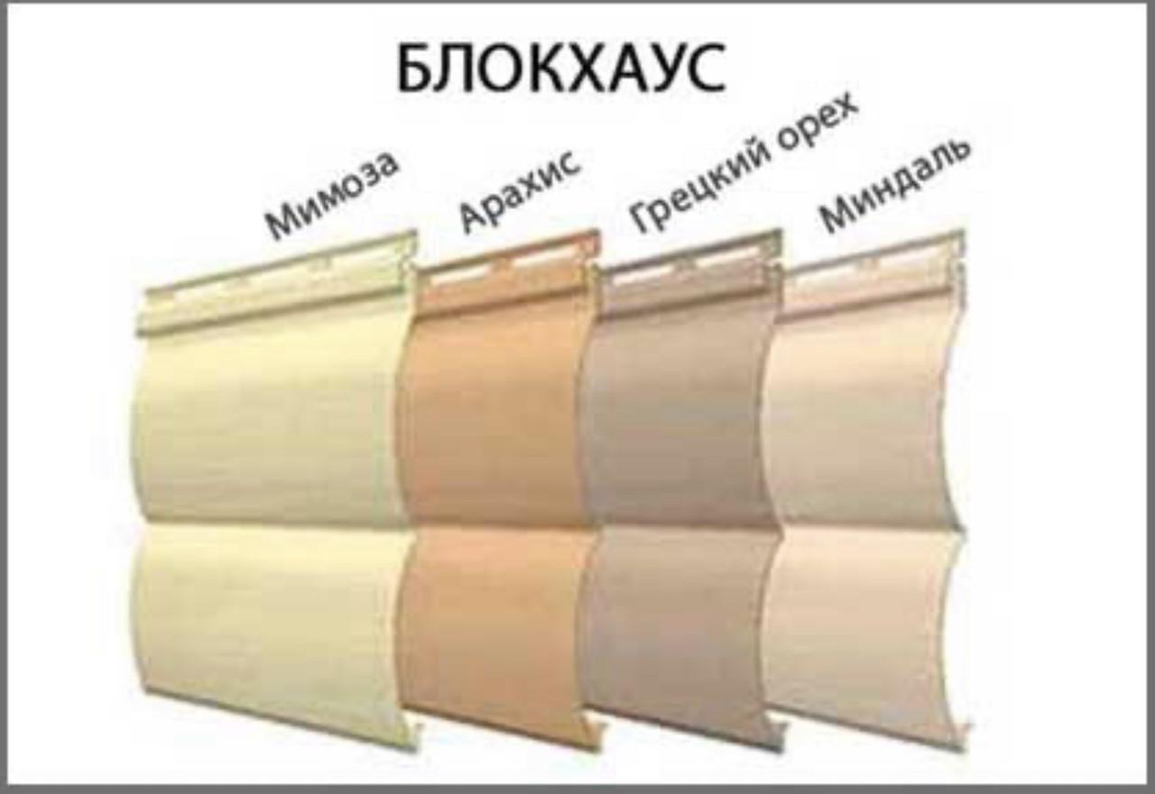 Фасадная панель FaSiding Блокхаус