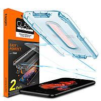 Защитное стекло Spigen для iPhone 8/7 Glass tR EZ Fit, 2шт (054GL22382), фото 1
