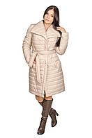 Зимняя куртка женская Севилья бежевый (44-52)