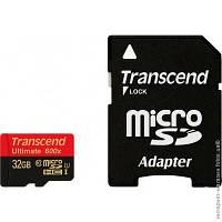 Карта памяти microSDHC 32GB Transcend Class 10 UHS-I Ultimate (TS32GUSDHC10U1)