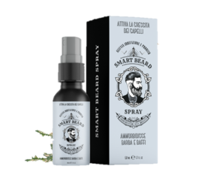 Smart Beard Spray (Смарт Бирд Спрей) - спрей для роста бороды