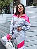 Женский спортивный костюм из плащевки со спорт сеткой 36rt865, фото 4