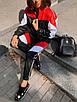 Женский спортивный костюм из плащевки со спорт сеткой 36rt865, фото 5
