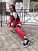Женский спортивный костюм из плащевки со спорт сеткой 36rt865, фото 7