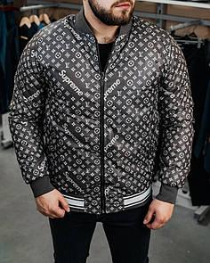 Бомбер куртка Мужской Supreme, Black