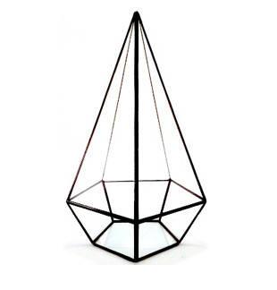 Флорариум для цветов Пирамида пятигранная 280х130, фото 2
