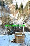 Японська баня Офуро з дуба СТАНДАРТ, для 3х-4х осіб, фото 4