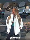Светоотражающая женская куртка на молнии без капюшона 37kur269, фото 2