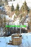 Японська баня Офуро з дуба СТАНДАРТ, для 3х-4х осіб, фото 6