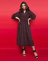 Женское платье большого размера.Размеры:50,52,54,56.+Цвета, фото 1