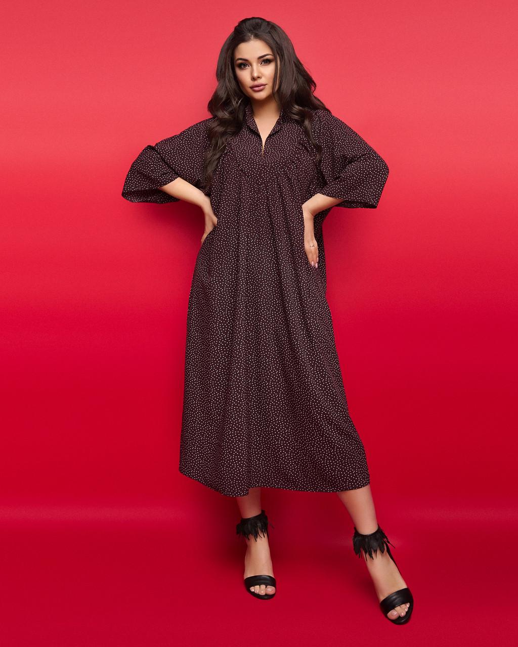 Женское платье большого размера.Размеры:50,52,54,56.+Цвета