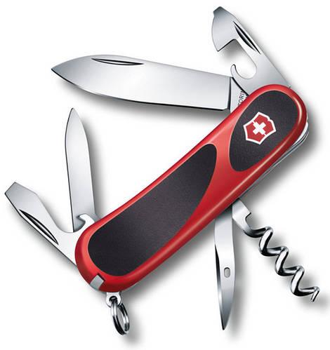 Офицерский карманный складной нож Victorinox Evolution 10, 23803.C  красный