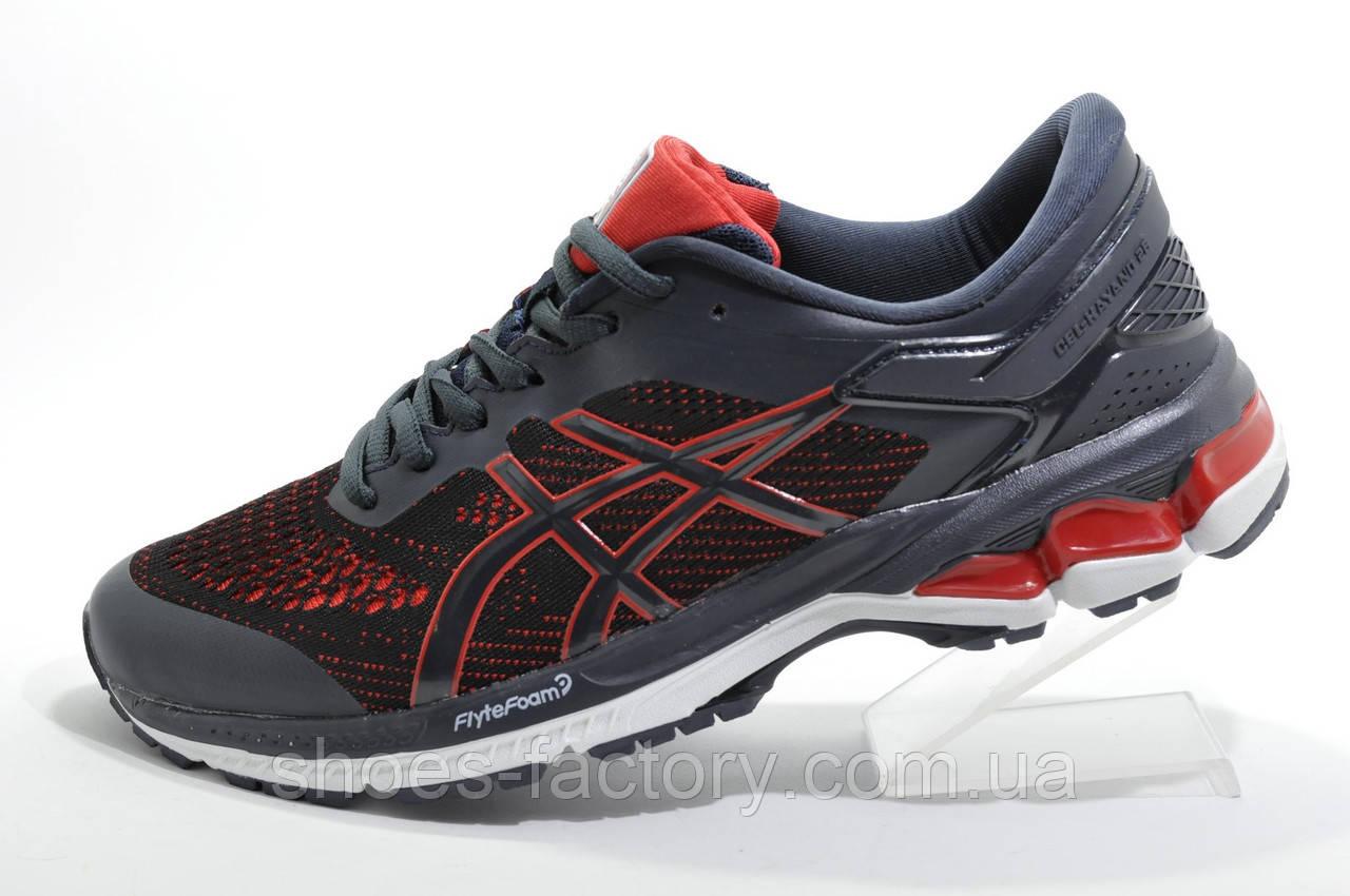 Кроссовки для бега в стиле Asics Gel Kayano 28, Dark Blue\Red