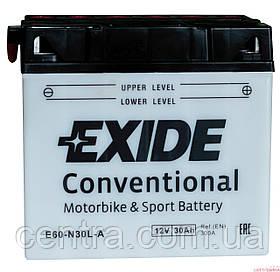 Мото аккумулятор EXIDE E60-N30L-A