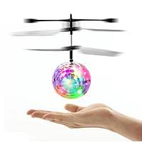 Летающий шар мяч ветолёт, диско шар Flying Ball от руки