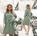 Стильное  платье  (размеры 52-58) 0234-03, фото 4