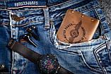 Чоловічий шкіряний гаманець ТатуНаКоже, POWER MOTOR, фото 4