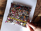 Разноцветный метафан мягкий, по весу нет информации, ориентируйтесь по фото, фото 3