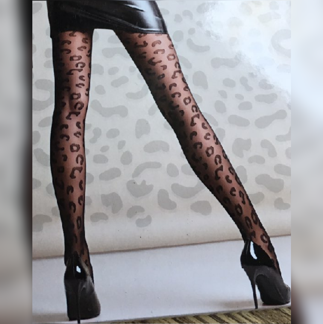 Женские леопардовые колготы Leo 20 ден Giulia