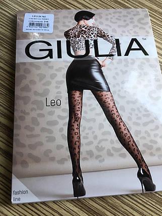 Женские леопардовые колготы Leo 20 ден Giulia, фото 2