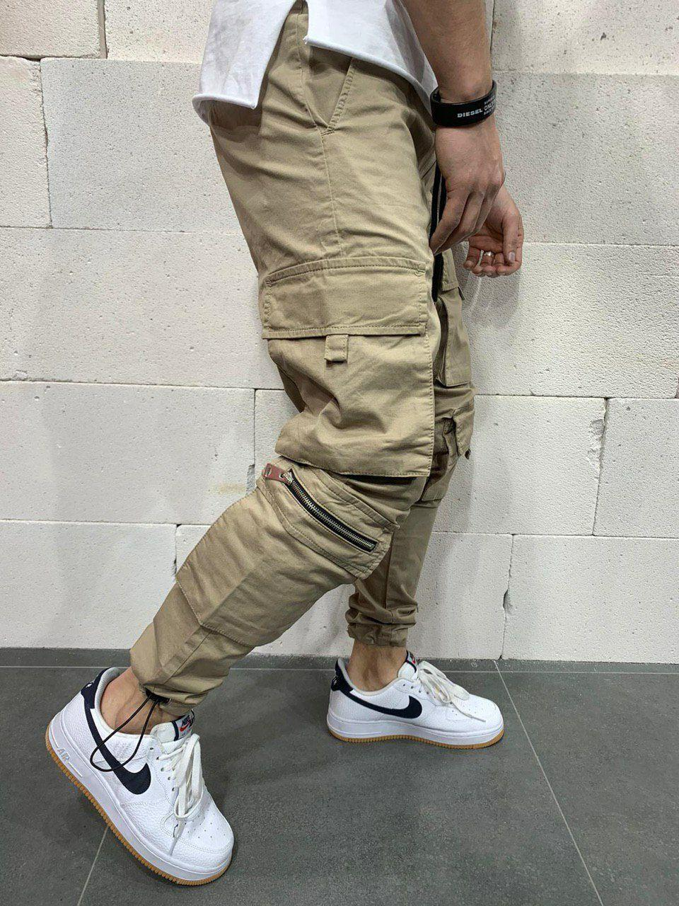 😝 Брюки карго- Мужские штаны карго