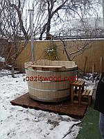 Офуро японская баня из дуба СТАНДАРТ, для 4х-5ти человек