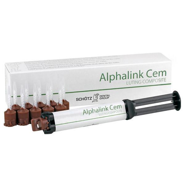 Alphalink Cem A3 шприц-автомікс 8г композитний цемент подвійного твердіння