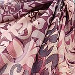 Палантин шерстяной 10396-15, павлопосадский шарф-палантин шерстяной (разреженная шерсть) с осыпкой, фото 2