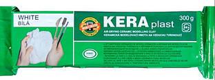 Пластилин Keraplast Koh-i-noor 300г белый