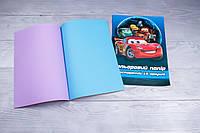 Набір кольорового паперу А4, 16 аркушів, книжка