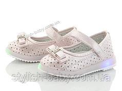 Детская обувь 2020 с подсветкой оптом. Детские туфли бренда ВВТ для девочек (рр. с 21 по 26)
