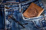 Чоловічий шкіряний гаманець ТатуНаКоже, Левине серце, фото 7