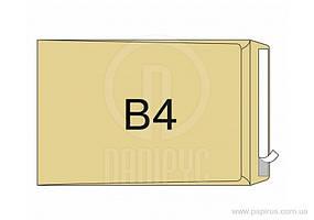Конверт В4 (250х353мм) коричневий