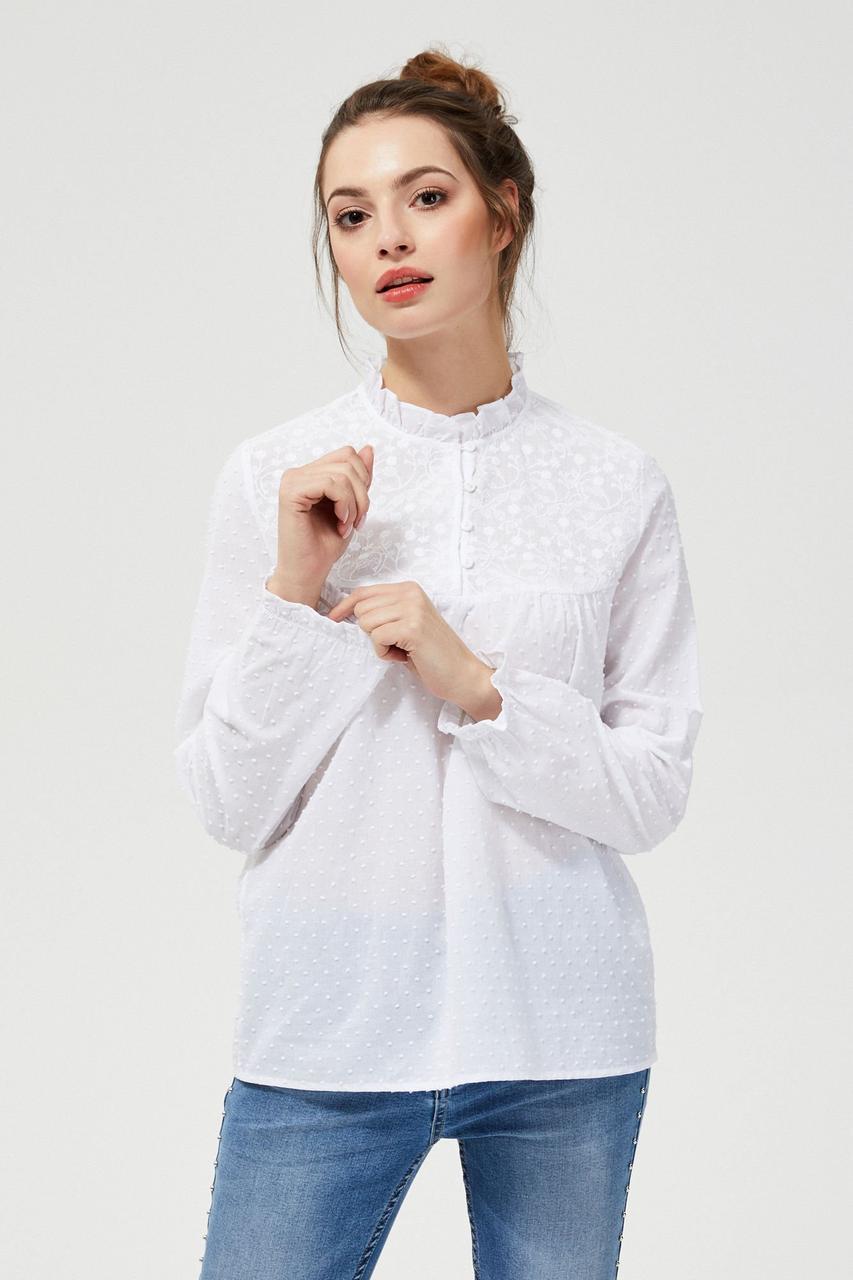 Блуза женская MOODO L-KO-3119 WHITE
