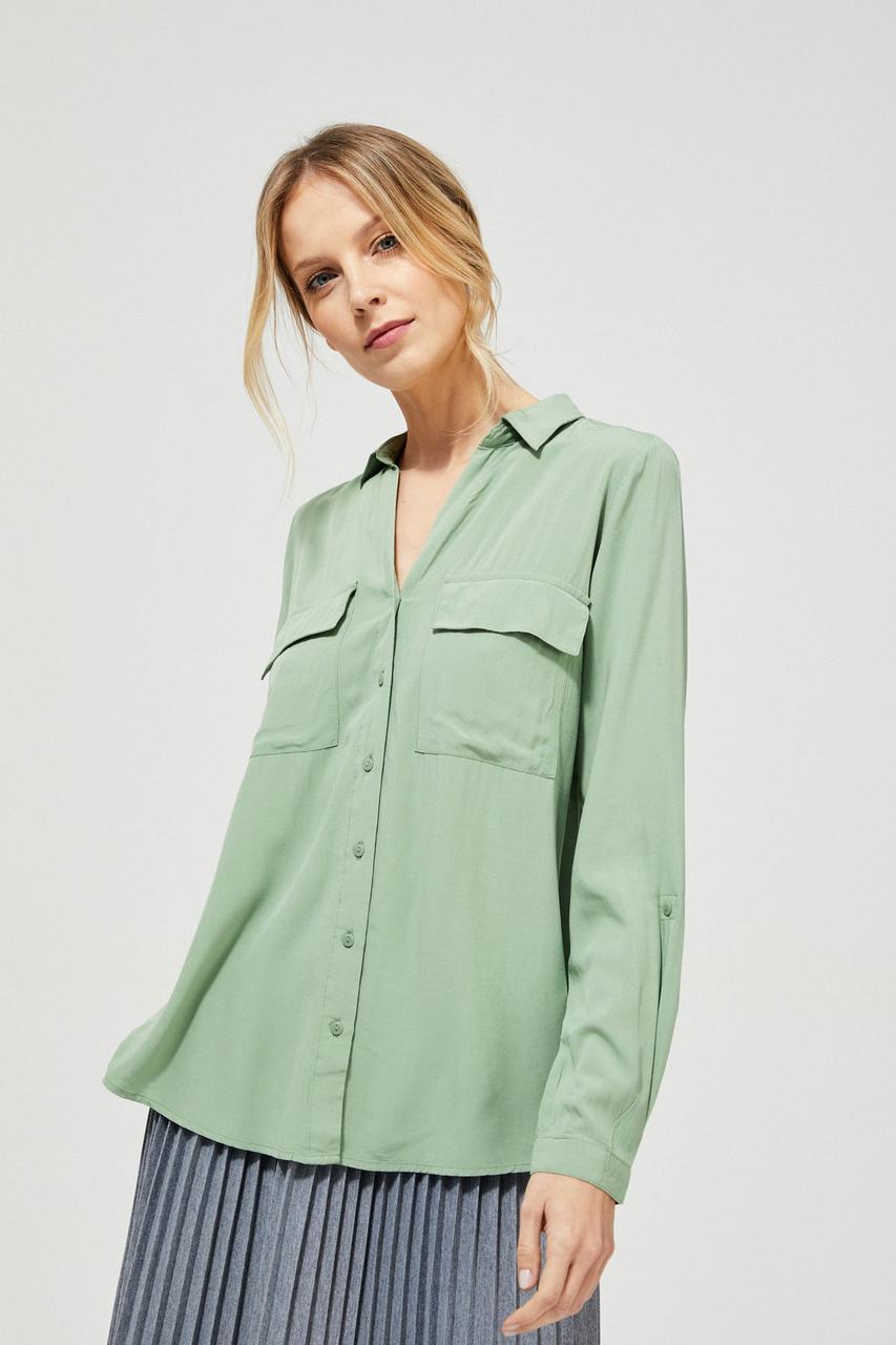 Блуза женская MOODO L-KO-3125 OLIVE
