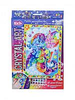 Набор Картинка из кристаллов «Cristal art» Пони-радуга Danko Toys