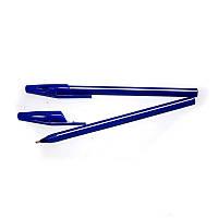 Ручка масляна Hiper Tri Grip HO-555 0,7 мм синя корпус синій
