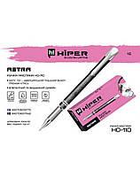 Ручка масляна Hiper Ace Astra HO-110 0,7 мм чорна корпус сірий