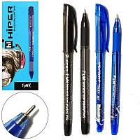 Ручка масляна Hiper Funk HO-135 0,7 мм синя корпус синій