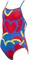 Купальник детский спортивный Arena Tickers jr one piece размер 6-7лет(рост116)
